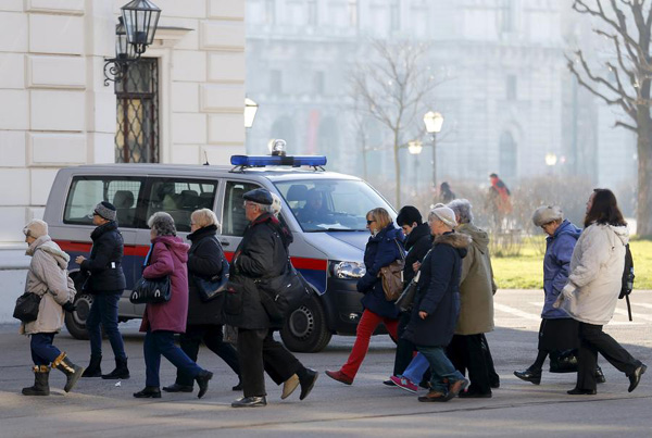 European capitals have been warned of possible attack: Austrian police