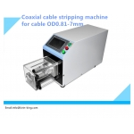 KK-TZ1 Semi-auto 0.81-7mm Coaxial Cable Stripping Machine