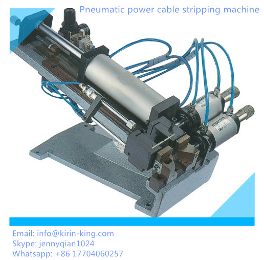 Pneumatic Power Cable Stripping Machine